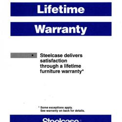 Lifetime Warranty Introduced