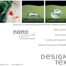 NanoSphere Finish Added to Designtex® Finishes